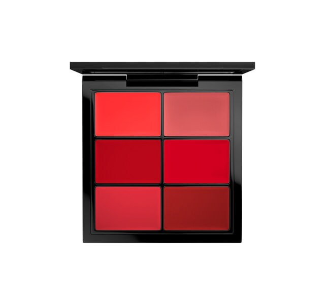 PRO Lip Palette / 6 Editorial Reds